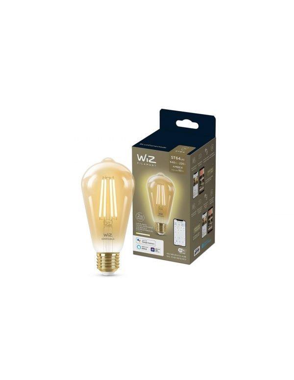 """LAMP.LED DIM 6.9W """"WI-FI"""" ST64 WIZ PHILIPS"""